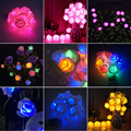 20 x LED Novelty Rose Flower Fairy String Lights Wedding Garden Party Christmas Decoration Nightlight