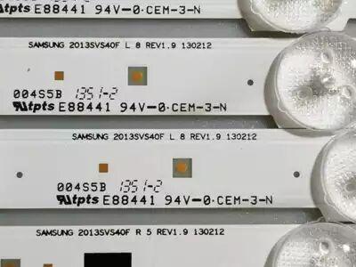 832mm LED Backlight Lamp strip 13leds For SamSung 40 inch TV UA40F5500AJ\AR UA40F6300AJ 2013SVS40F HF400BGLV1H LCD 1 pcs lj64 03514a 2012sgs40 7030l 56 rev1 0 led tv backlight strip 56 led 493mm