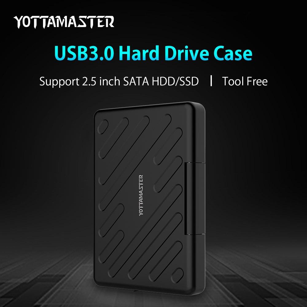 YOTTAMASTER 2 5 Inch USB 3 0 HDD External Enclosure Safety Waterproof HDD font b Harddisk