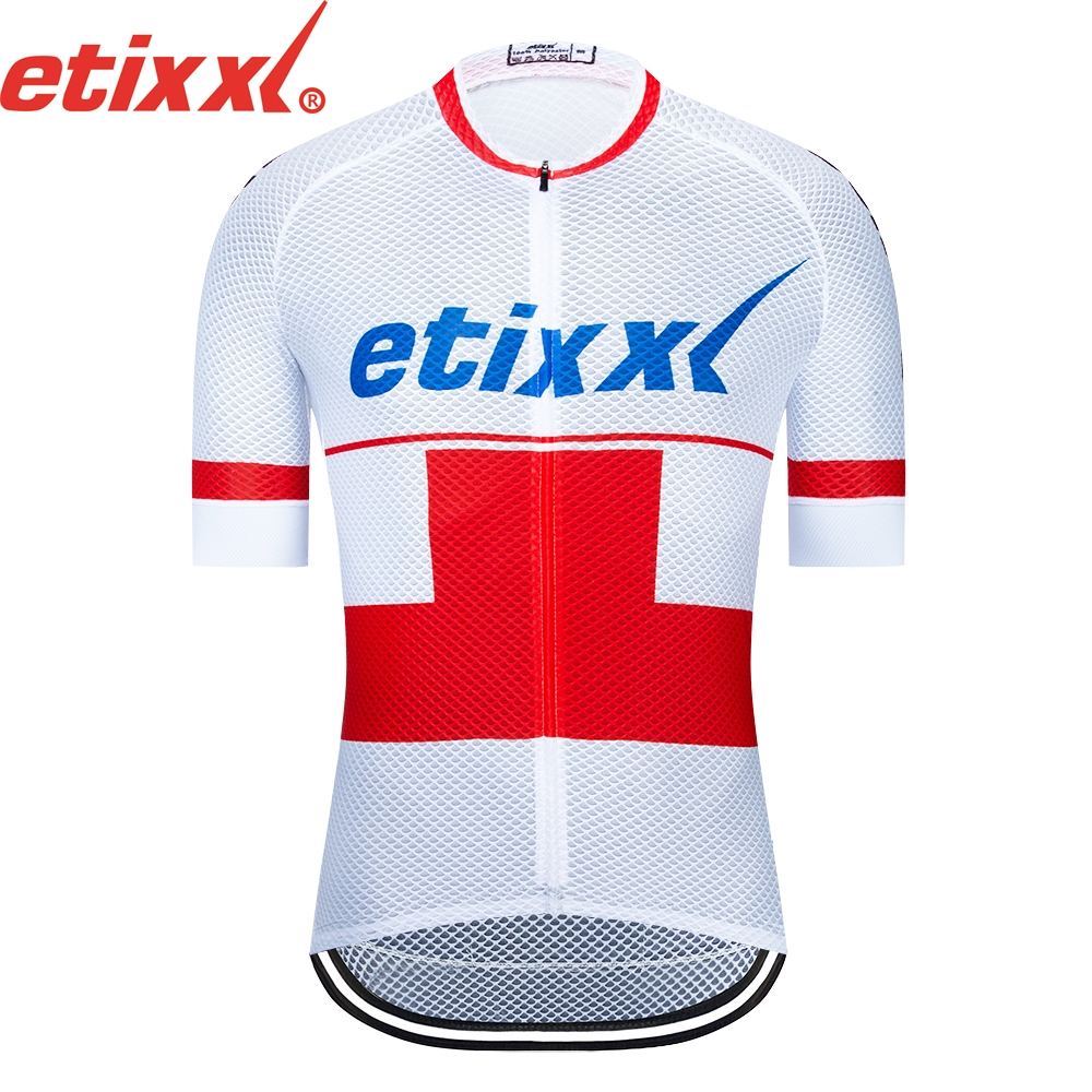 2019 Maillot Ropa Ciclismo Etixx Cycling Jersey Cycling Clothing Racing Sport Bike Jersey Tops Cycling Wear Short Sleeve