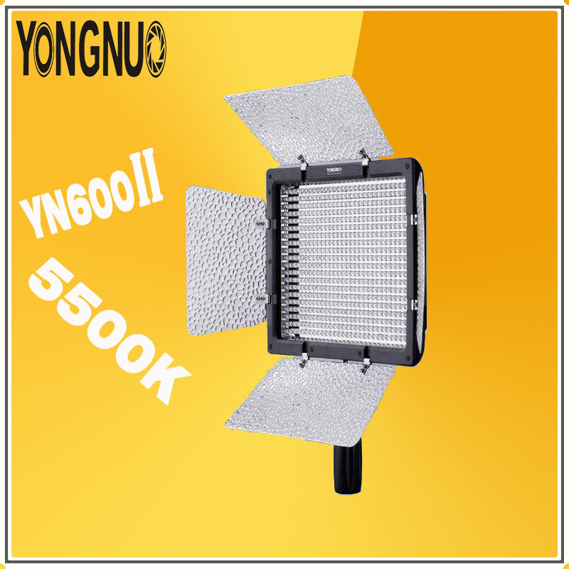 YONGNUO <font><b>YN600L</b></font> <font><b>II</b></font> 5500K Video LED Light lamp Panel Photographic light 2.4G Wireless Remote Bluetooth For DSLR & Camcorder YN600 image