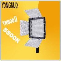 YONGNUO yn600l II 5500 К видео светодиодные лампы Панель фотографического света 2.4 г Беспроводной удаленного Bluetooth для DSLR & видеокамера yn600