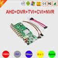1080N H.265 16CH/8CH/4CH XMeye APP Coaxial 6 in 1 Hybrid Coaxial AHD TVI CVI DVR NVR Motherboard Free Shipping
