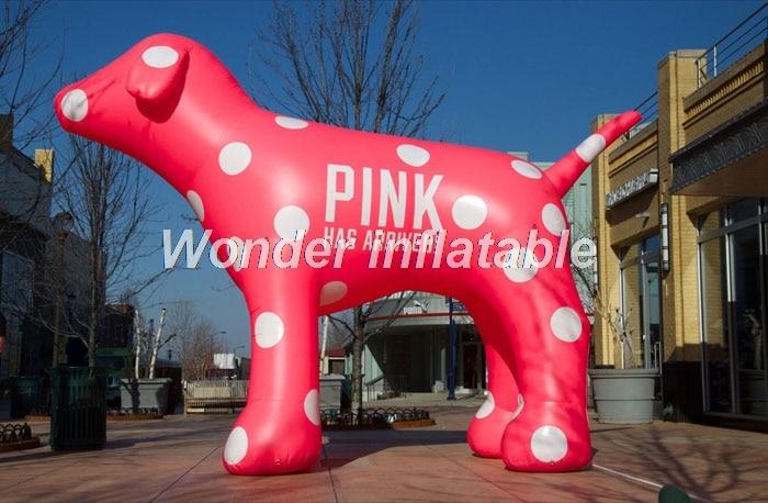 Aufblasbarer rosa Hund des riesigen 10ft Tierballons des heißen - Partyartikel und Dekoration - Foto 2