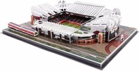 [TOP] 186Pcs/set The Red Devils Old Trafford Club RU Competition Football Game Stadiums building model toy gift original box