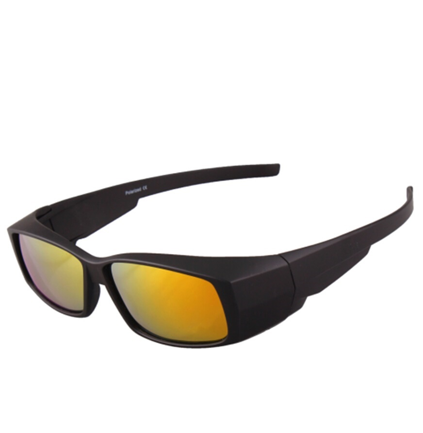 Polarized Lens Covers font b Sunglasses b font Fit Over Sun glasses Wear Over Myopia For