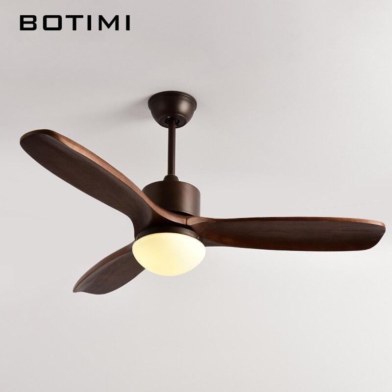Botimi 2018 новый потолочный вентилятор для гостиной Ventilador de techo потолочные вентиляторы с дюймов огнями 48 дюймов современный охлаждение вентиля...