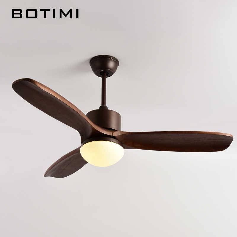 Botimi 2019 новый потолочный вентилятор для гостиной вентилятор de techo потолочные вентиляторы с подсветкой 48 дюймов современные охлаждающие вентиляторные крепления