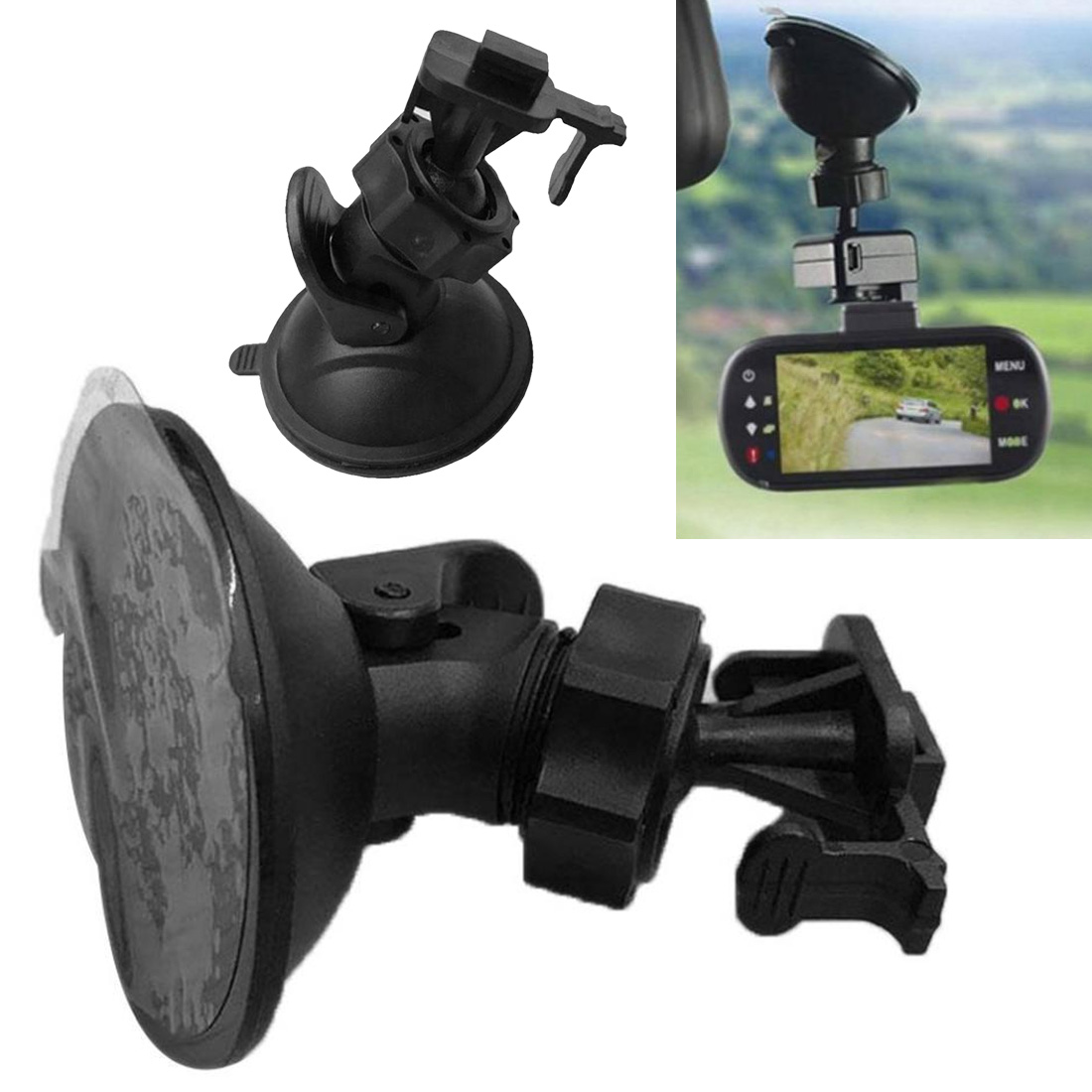 Dash Camera Car Holder Rack Cars 180 Degree Rotating Sport Car DVR Holder Driving DV Camera Mount for Car Holder Recorder