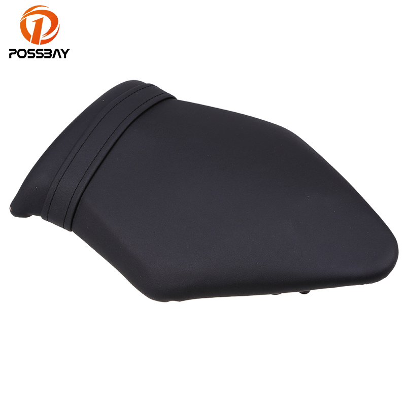 POSSBAY Motorcycle Leather Rear Back Cushion Pillion Seat Fit for BMW S1000RR 2009 2010 2011 2013 2014 Cafe Racer Motorbikes motorcycle pillion passenger rear seat cover cowl for 2009 2014 bmw s1000rr s 1000 rr 2009 2014