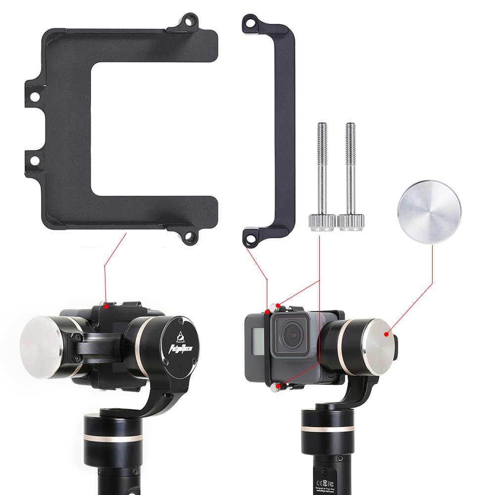 FeiyuTech カメラ取付キットクリップマウントプレート用 Feiyu G4/WG WGS 移動プロヒーロー 5 6 xiaomi 李カメラ