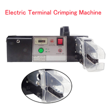 Electric Terminal Crimping Machine Terminal Crimping Tool with Exchangeable Die Sets Electric Crimper EM-6B2-BC ch 200 perfume crimping machine