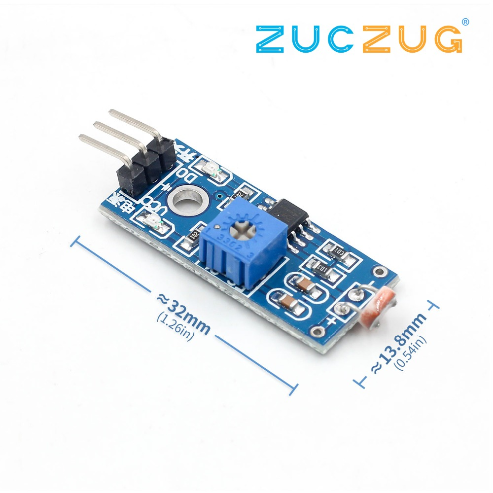 LM393 Photoresistance Photosensitive Sensor Module Detection Photoresistor Light Sensor Module For Arduino