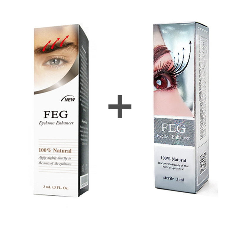 Eyebrow-Growth-Liquid Eyebrow-Enhancer/2-Boxes FEG In 2pcs/Lot A-Pack/help