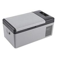 DC 24V 12V Car Refrigerator Freezer Cooler 15L Car fridge AC 110 240V for Car Home Picnic Quick Refrigeration to 20 Deg.C