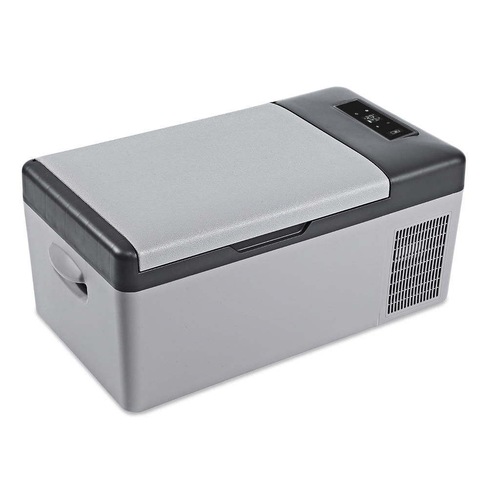 DC 24 В в В 12 в автомобильный холодильник морозильник кулер 15L автомобильный холодильник AC 110 В-240 В для автомобиля домашний Пикник быстрое охла...