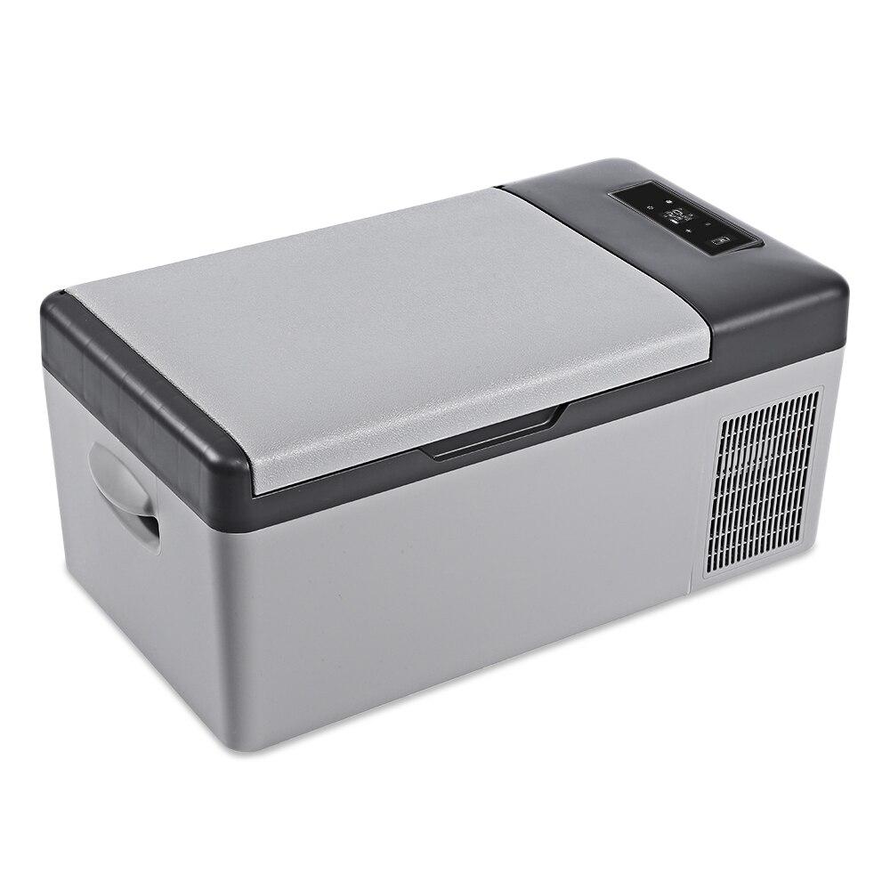 DC 24 v 12 v Voiture Réfrigérateur Congélateur Refroidisseur 15L Voiture réfrigérateur AC 110-240 v pour La Maison De Voiture pique-nique Rapide De Réfrigération à-20 Deg. C