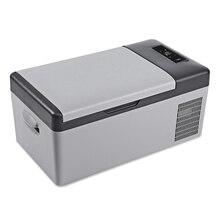 DC 24 В в В 12 в автомобильный холодильник морозильник кулер 15L автомобильный холодильник AC 110 В-240 В для автомобиля домашний Пикник быстрое охлаждение до-20 град. C
