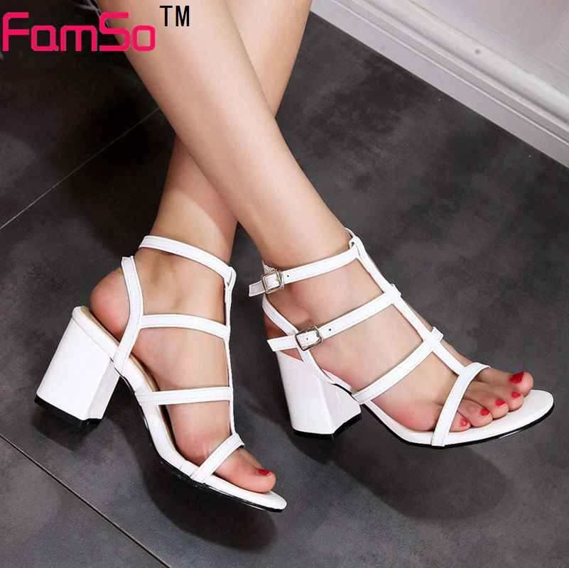 plus size34 46 2017 new shoes women gladiator sandals. Black Bedroom Furniture Sets. Home Design Ideas
