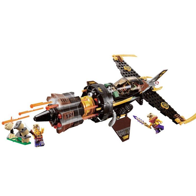 Фото Bela BL10322 Compatible Legoe Ninjagoe Thunder Swordsman Building Blocks Bricks Toys