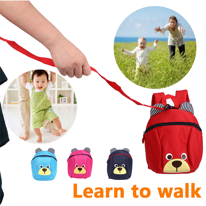 Infant Walking Belt Bag Newborn Walking Belt Bag Backpack Baby Walking Belt Bag Multifunctional 4 Colors Adjustable Kids