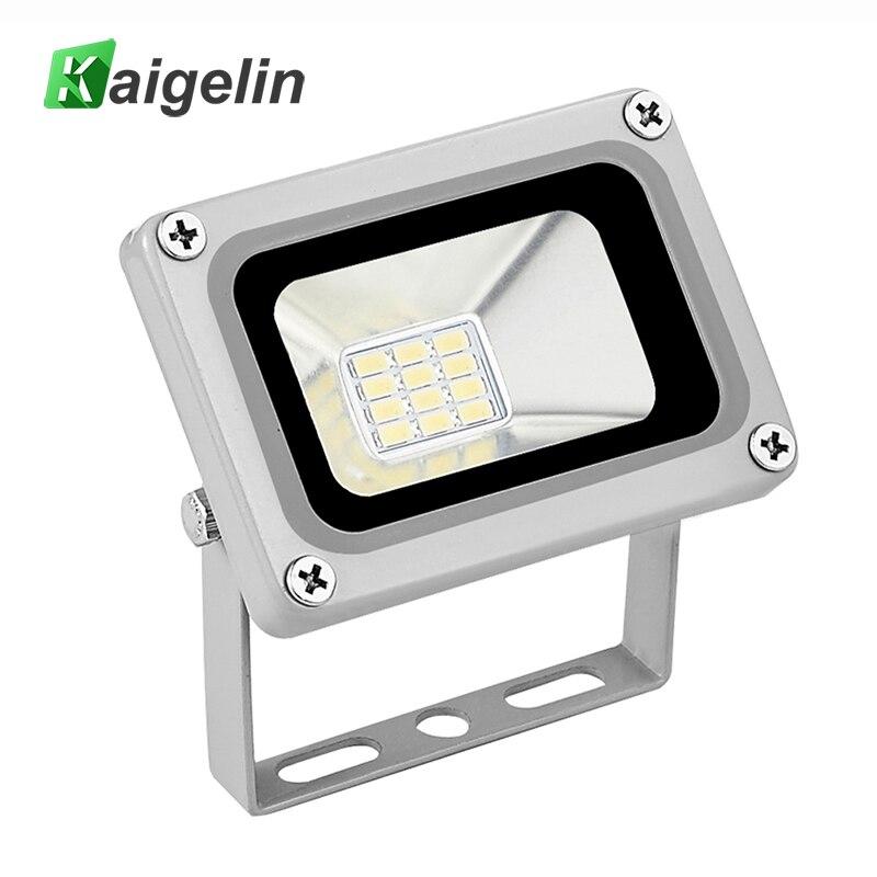 Kaigelin 10 W llevó la luz de inundación 12 V-24 V IP65 LED impermeable LED reflector foco LED para la iluminación al aire libre iluminación del jardín