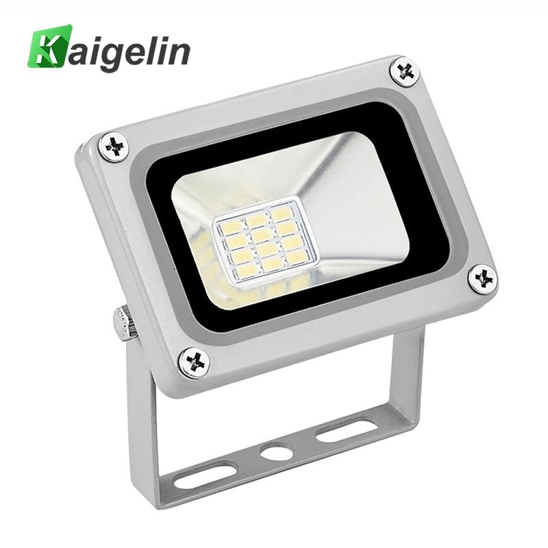 Kaigelin 10W LED Flood Light 12V-24V IP65 Waterproof LED Floodlight Refletor LED Spotlight For Outdoor Lighting Garden Lighting
