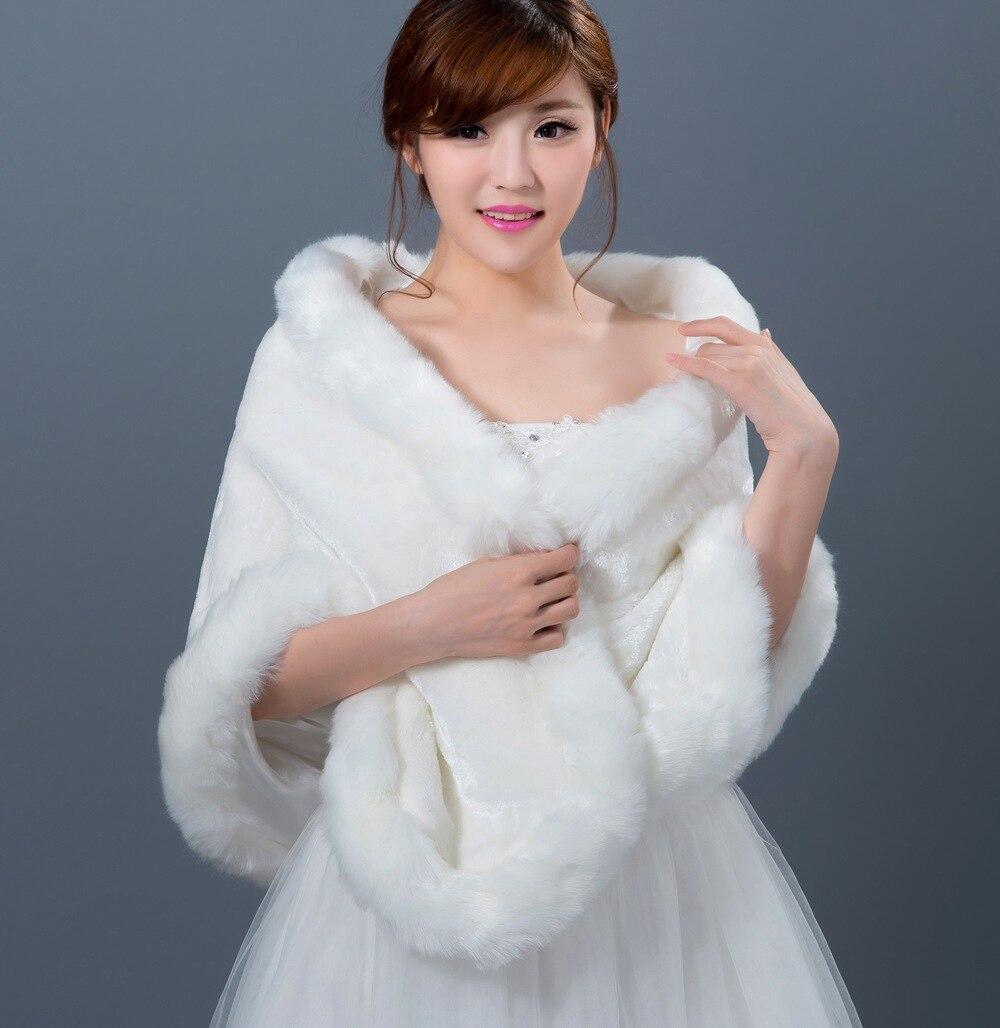 Wedding Gown Wraps: New Arrival Cheap Bride Wraps Winter Wedding Dress Bolero