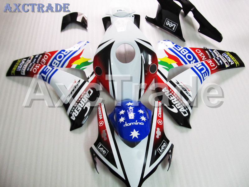 Motorcycle Fairings For Honda CBR1000RR CBR1000 CBR 1000 RR 2008 2009 2010 2011 ABS Plastic Injection Fairing Bodywork Kit MF020