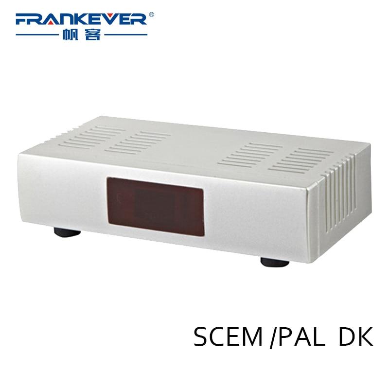 6pcs/lot Frankever RF-207 Classical PAL/SECAM DK TV Signal Modulator Audio Video Radio Frequency Converter for Russian Market tejinder pal singh rf mems a technological aspect