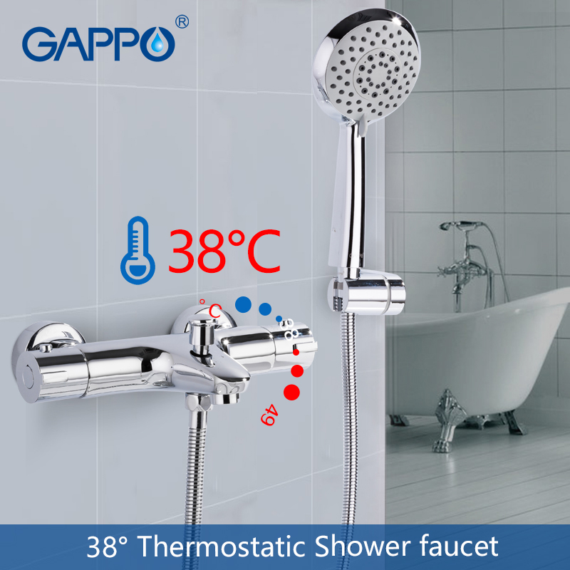 GAPPO bathtub faucet waterfall mixer faucet bathtub shower taps wall mounted thermostatic faucet water bathroom taps gappo bathtub faucet thermostatic shower mixers in wall faucets shower faucet thermostatic thermostat taps