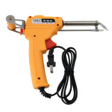 60W soldering iron manual send gun with bracket section 220V GB (yellow)