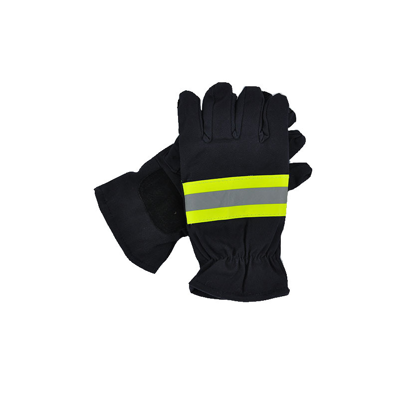 Firefighter's Hand Protective Equipment Fire Rescue Flame Retardant Safety Gloves with Reflective Material Tape firefighter s hand protective equipment fire rescue flame retardant safety gloves with reflective material tape