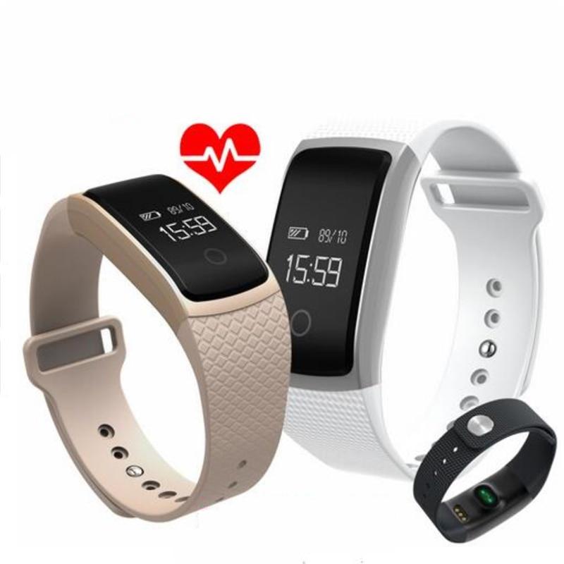 imágenes para Teamyo Smartband Pulsera Inteligente de La Presión Arterial Monitor de Ritmo Cardíaco Gimnasio Podómetro Reloj Pulsera Inteligente para IOS Android