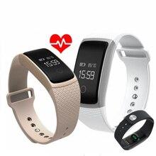 Teamyo SmartBand Смарт Браслет крови Давление монитор сердечного ритма шагомер фитнес-часы Смарт-браслет для IOS Android