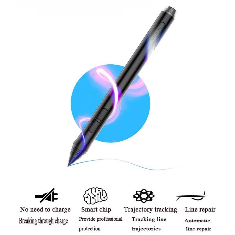 Tablette de dessin veikk a50 tablette de stylo numérique avec stylo passif 8192 niveaux Compatible avec la plupart des logiciels de dessin