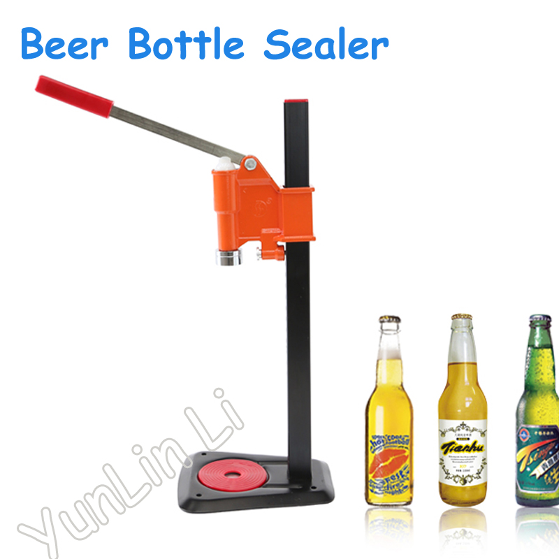 Beer Bottle Capping Machine Manual Beer Lid Sealer Beer Capper Soft Drink Capping Machine Soda Water Caper mutoh vj 1604w rj 900c water based pump capping assembly solvent printers