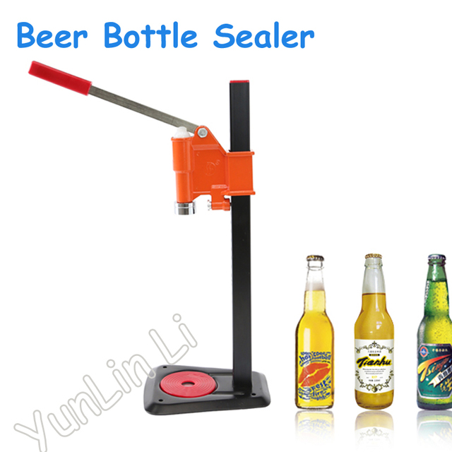 Free shipping beer bottle capping machine manual capping machine.