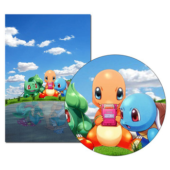 Pokemon Charizard Game Poster Anime Wall Art Canvas Print Painting 30x45 60x90cm Decorative Picture Wallpaper Living Room Decor 2