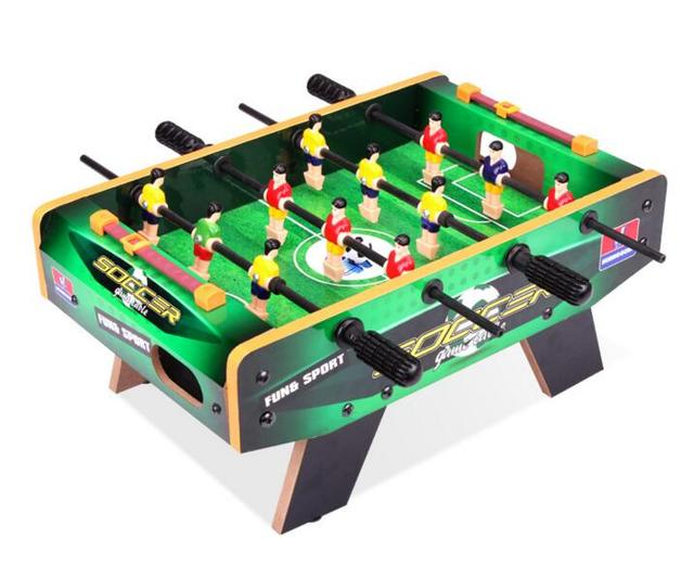 Sports Entertainment Indoor Board Game Home Wooden Soccer Tables Football  Bar Happy Family Parenting Game Table