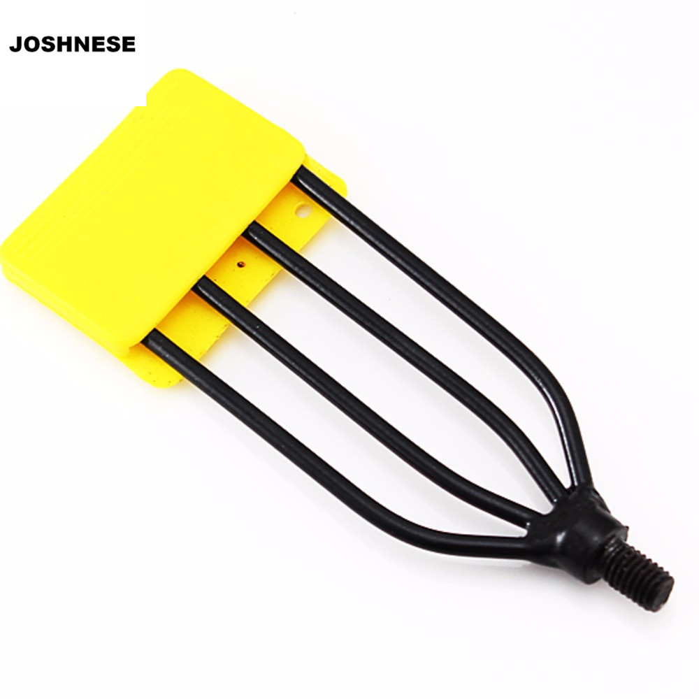 Aliexpress.com : Buy JOSHNESE Fishing Spear 4 Prong Spearhead Fork Harpoon Tip with Barbs Diving ...