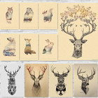 Deer Art Home Wall D...