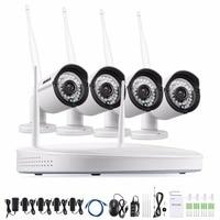 ANNKE 4CH 960P NVR Wireless CCTV System 4PCS 1 3MP CCTV Security WIFI IP Camera Baby
