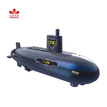 Remote control submarine experiment