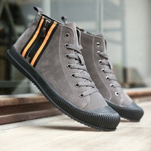 Men Shoes 2016 Top Fashion New Winter Front Lace-Up Casual Ankle Boots Autumn Shoes Men Wedge Fur Warm Leather Footwear