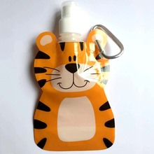 1pcs 380ML Reusable Food Pouch Baby Packaging Reusable Squeeze Pouch Plastic Smoothie Squeeze Bags Refillable Zip Lock Bag