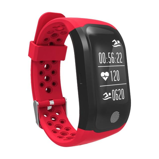 ef22d008bfc Smart Bracelet IP68 Waterproof Smart Band Heart Rate Monitor Fitness Tracker  Call Reminder GPS chip S908 Sports Wristband