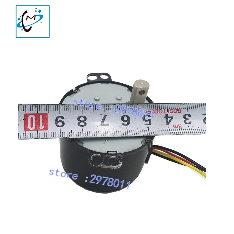 amazing price !!! take up motor rewinder motor  spare part for Roland SP VP XC RS SJ 540 300 640 piezo photo printer  motor original roland scan motor 6700469020 for vp 540 vp 300 rs 640 printer