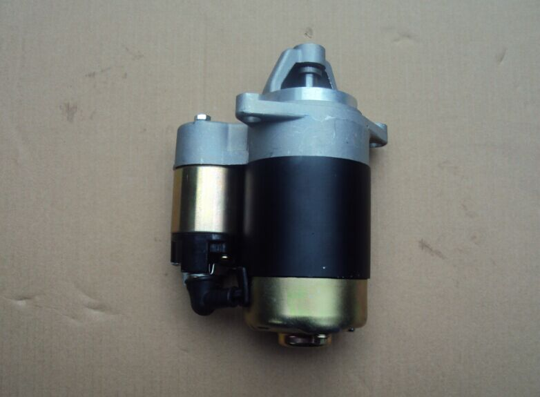 Fast Shipping diesel engine 186FA starting motor starter motor air cooled suit kipor kama and chinese brand fast ship diesel engine 188f conical degree crankshaft taper use on generator suit for kipor kama and all chinese brand