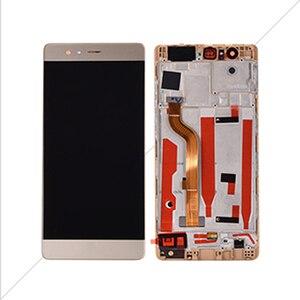 """Image 2 - AICSRAD 5.2 """"LCD لهواوي P9 عرض محول الأرقام بشاشة تعمل بلمس مع الإطار لهواوي P9 شاشة الكريستال السائل EVA L09 EVA L19 استبدال"""